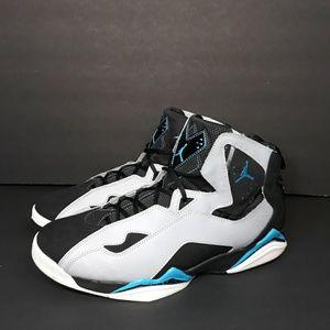 Nike Air Jordan True Flight Powder Blue Sz 13